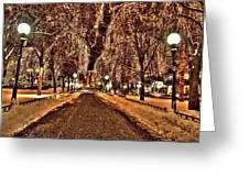 Rice Park Saint Paul Greeting Card