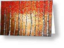 Rich Trees Greeting Card