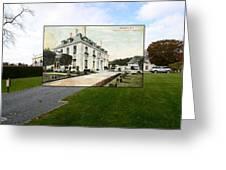 Richard Gambrell Residence In Newport Rhode Island Greeting Card
