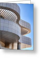 Richard Meier's Getty Architecture I Greeting Card