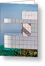 Richard Meier's Getty Greeting Card
