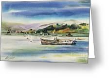 Richardson Bay Marin Greeting Card