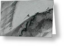 Richat Structure Greeting Card