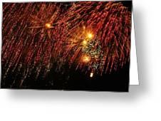 Richmond Fireworks Greeting Card