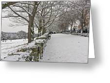 Richmond Hill Snow Greeting Card