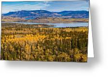Richthofen Island Yukon Territory Canada Greeting Card