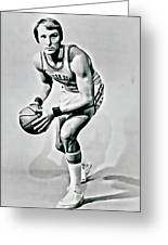 Rick Barry Greeting Card