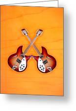 rickenbacker 12-S guitar Greeting Card