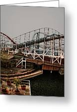 Ride The Roller Coaster Greeting Card