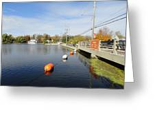 Rideau Canal Greeting Card