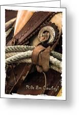 Ride'em Cowboy Greeting Card
