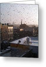 Ridgewood Wet With Rain Greeting Card by Mieczyslaw Rudek Mietko
