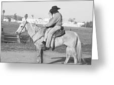 Riding Lesson Greeting Card