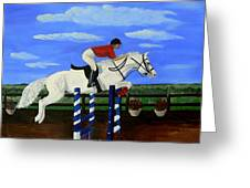 Riding The Wind Greeting Card