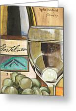 Riesling Greeting Card by Debbie DeWitt