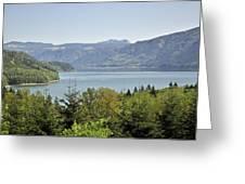 Riffe Lake Greeting Card