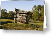 Rifle Tower Ninety Six National Historic Site Greeting Card