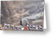Riga Architecture Greeting Card