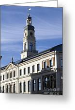 Riga Town Hal Greeting Card