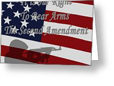 Right To Bear Arms Greeting Card