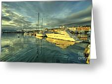 Rijekan Reflections Greeting Card