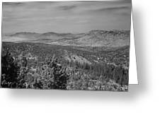 Rim Of The World Views Greeting Card