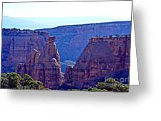 Rim Rock Colorado Greeting Card