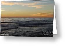 Rincon Ventura California  Greeting Card by Gina Braget
