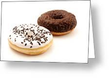 Ring Doughnuts Greeting Card