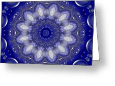 Ring Of Lights Greeting Card