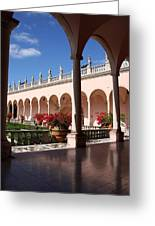 Ringling Museum Arcade Greeting Card