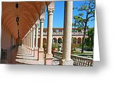 Ringling Museum Gardens Greeting Card