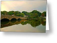 Rings End Bridge Greeting Card