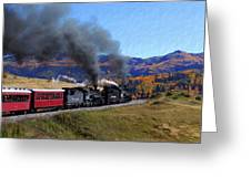Rio Grande 488 And 489 Greeting Card