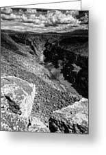 Rio Grande Gorge - Taos New Mexico Greeting Card