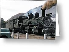 Rio Grande Railway Baldwin Built In 1903 No. 464 Circa 1955 Greeting Card