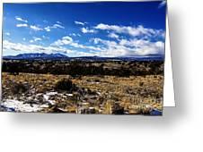 Rio Grande River Canyon-arizona V2 Greeting Card