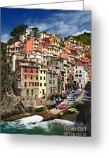 Rio Maggiore Marina Greeting Card