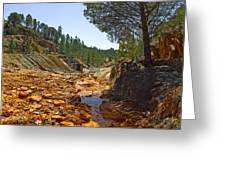 Rio Tinto Mines, Huelva Province Greeting Card