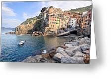 Riomaggiore Cinque Terre - Italy Greeting Card