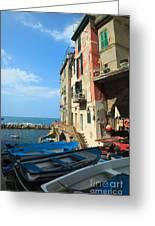 Riomaggiore - Cinque Terre Greeting Card
