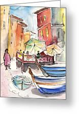 Riomaggiore In Italy 01 Greeting Card