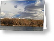 Riparian Zone Snake River Greeting Card
