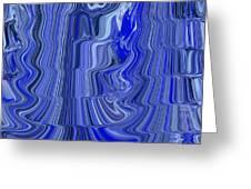 Ripple Abstract Greeting Card