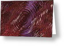 Ripple Ruby Greeting Card