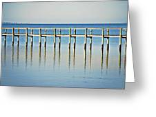 Rippled Reflections Greeting Card