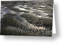 Rippled Sand Greeting Card