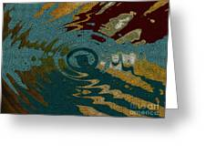 Rippled Time Greeting Card