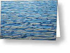 Ripples On A Scottish Loch Greeting Card by Tim Gainey