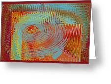Rippling Colors No 1 Greeting Card